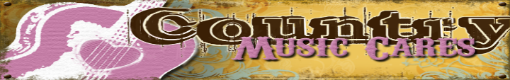 Country Music Cares Banner