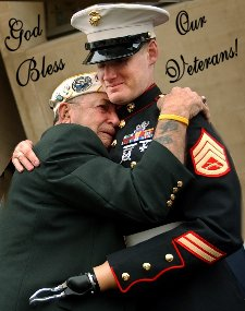 Veterans Day Father and Son 225X285  72