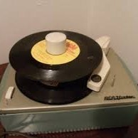 Old 45 Record Player